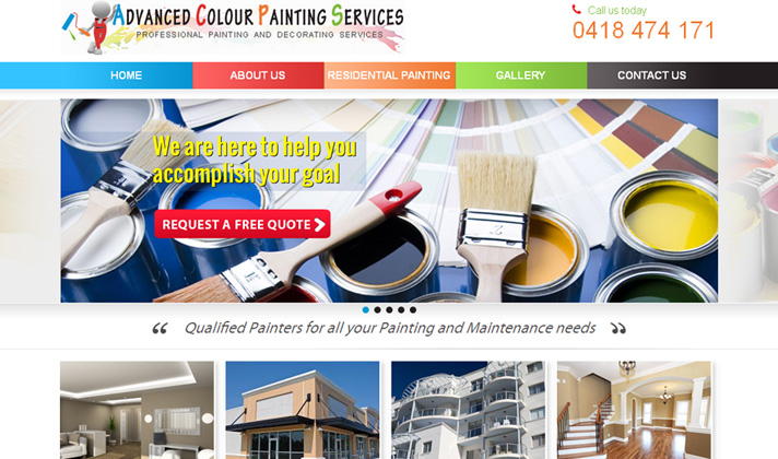 Advanced Colour Painting Services