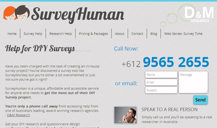 Survey Human