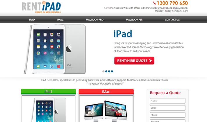 Rent iPad Australia