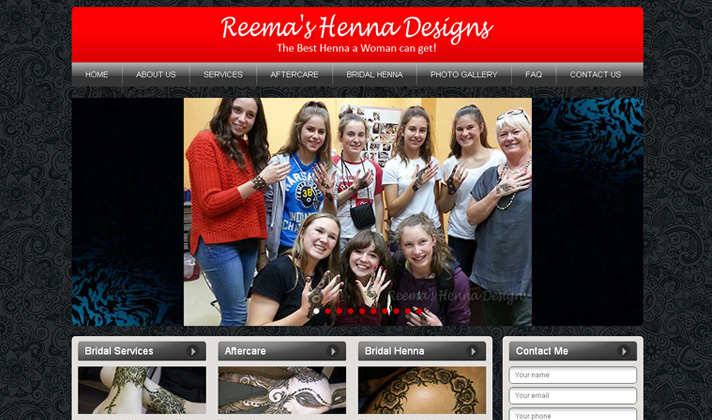 Reema's Exclusive Henna Designs