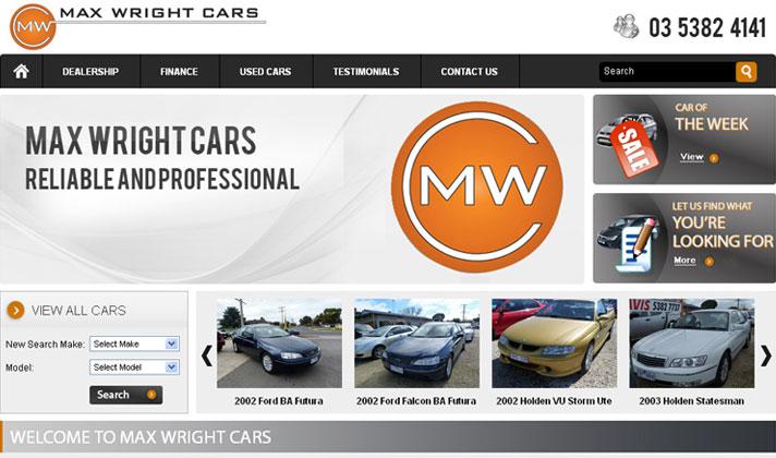 Max Wright Cars