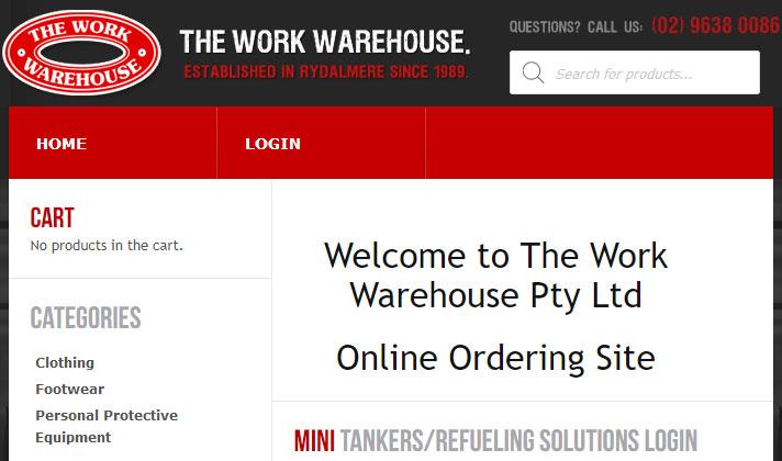 merchant workwarehouse