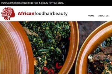 African Food Hair & Beauty