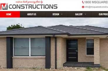 Construction & Engineering Web Designs
