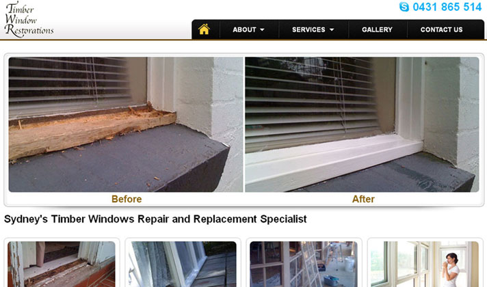 Timber Window Restorations
