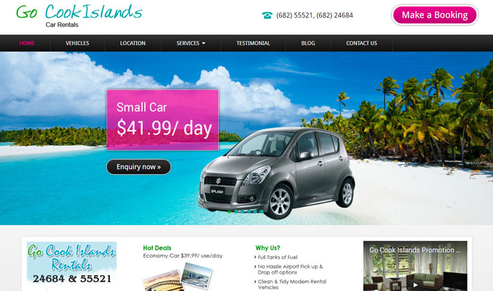 Go CookIslands Car Rentals