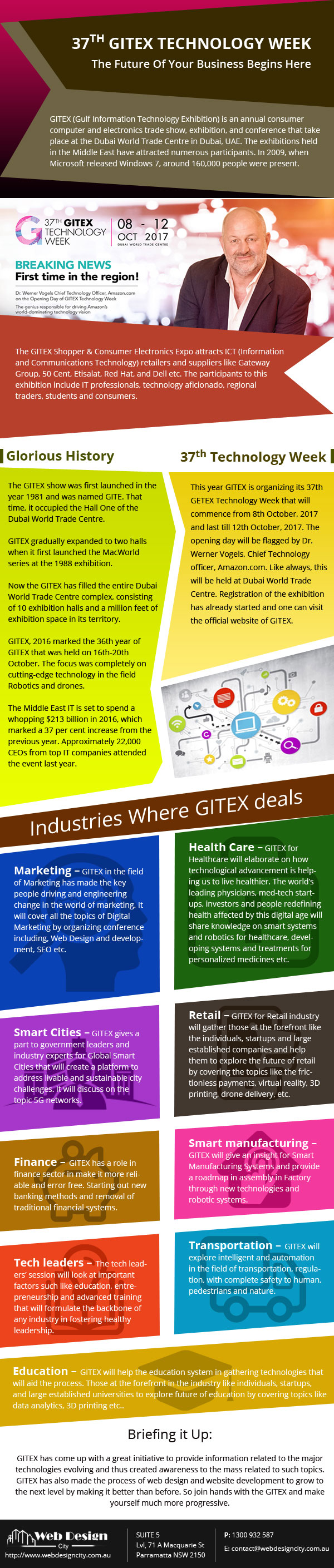 37TH GITEX TECHNOLOGY WEEK - The Future Of Your Business Begins Here