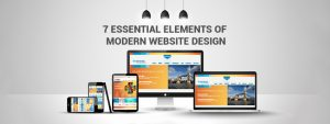 7 Essential elements of Modern Website Design to Inspire You