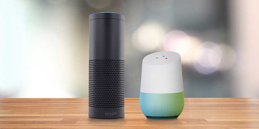 Amazon Alexa and Google Home