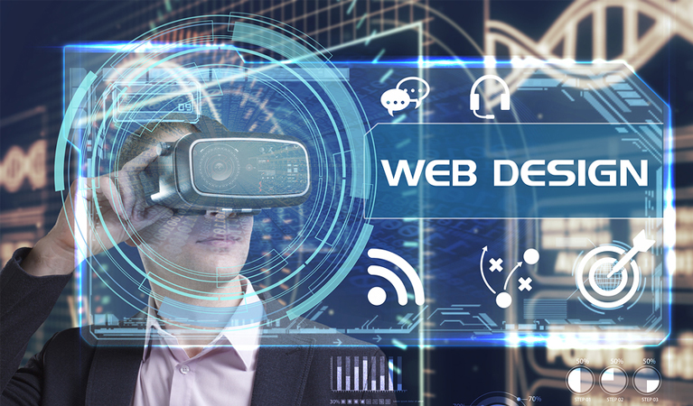 virtual web design