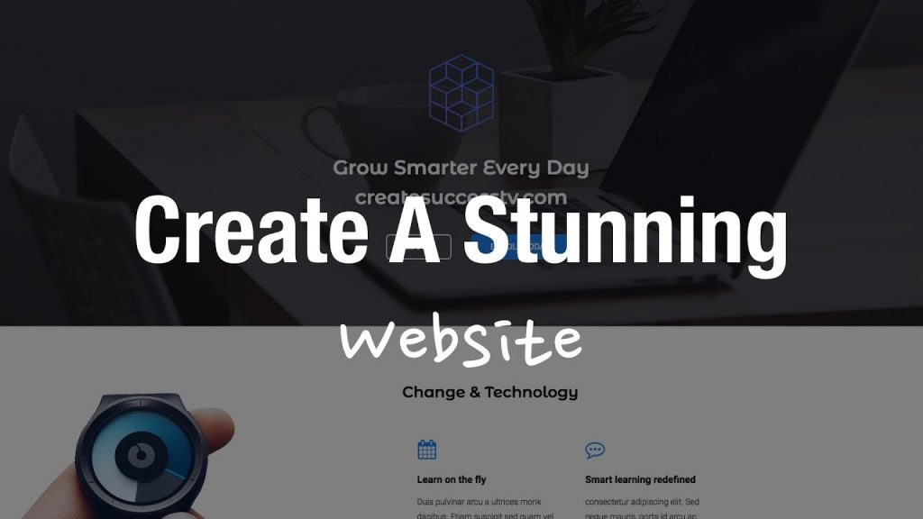 Create Stunning Website