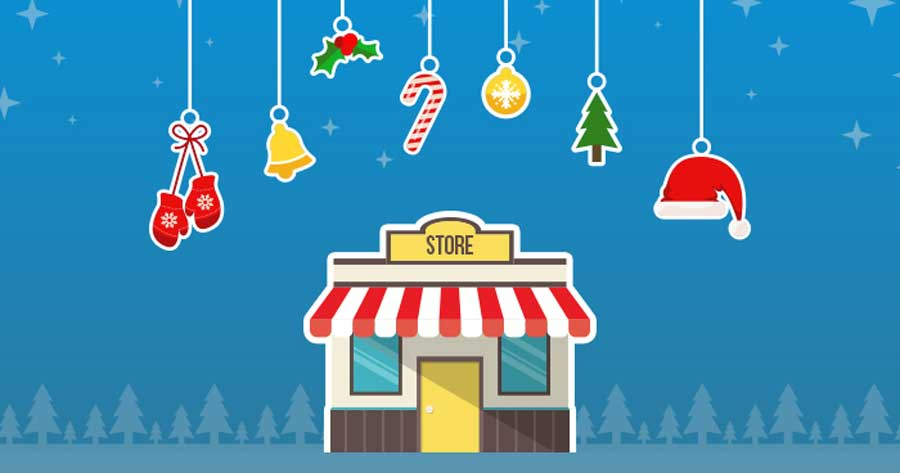 eCommerce store ready for holidays