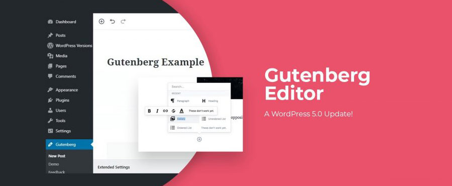 Run a Test for the Gutenberg Editor