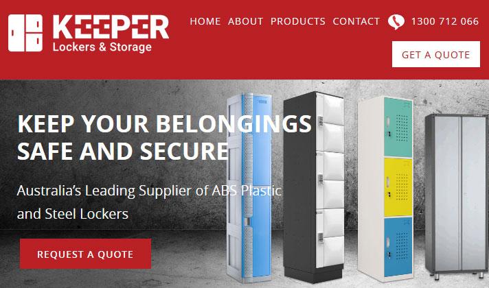 Keeper Lockers & Storage